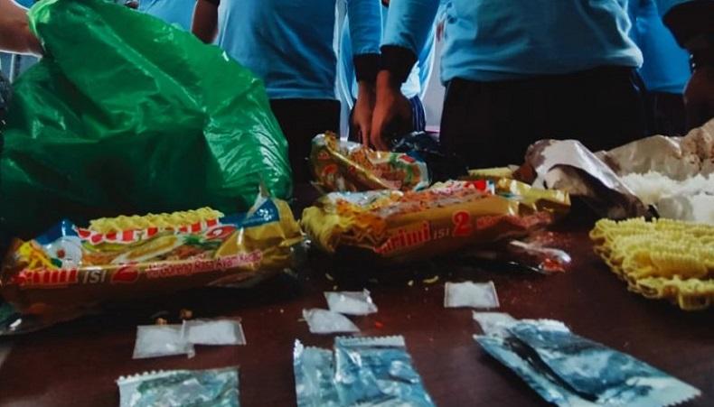 Pengunjung Selundupkan Sabu dalam Mi Instan ke Lapas Banjarmasin