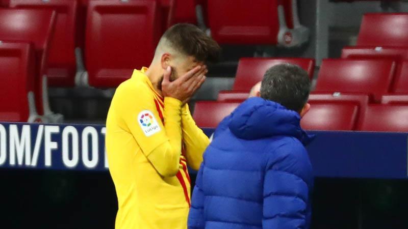 Tak Hanya Kalah, Barcelona Juga Kehilangan 2 Pemain Akibat Cedera