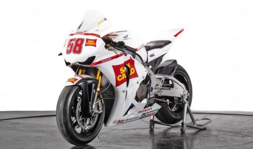 Motor Bekas Pembalap MotoGP Simoncelli Dijual Rp807 Juta