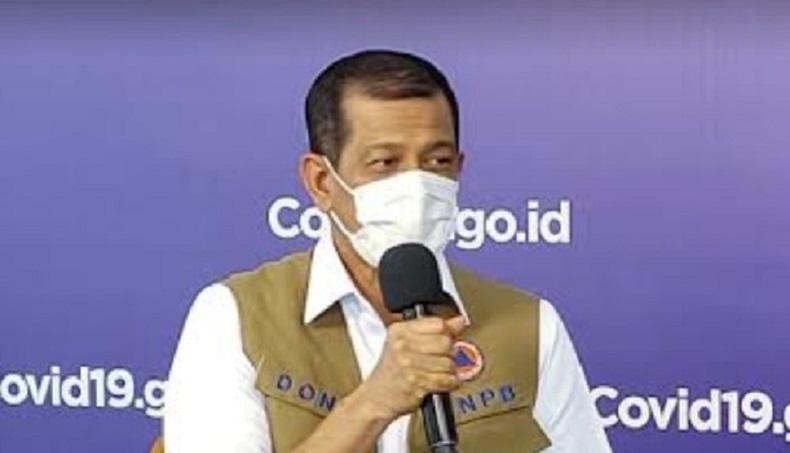 Doni Monardo: Presiden Jokowi Selalu Ikuti Perkembangan Data Covid-19