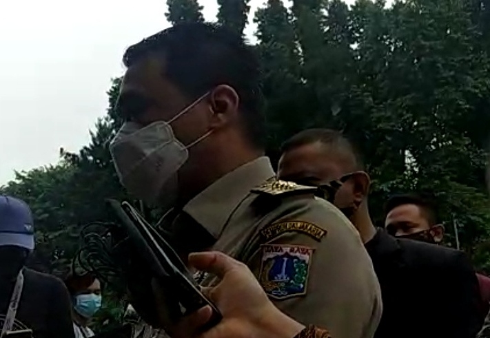 Usai Anies, Wagub DKI Jakarta Ahmad Riza Patria Hadiri Klarifikasi di Polda Metro