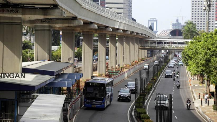 4.000 Bus Transjakarta Beroperasi Selama PSBB Transisi - Bagian 2