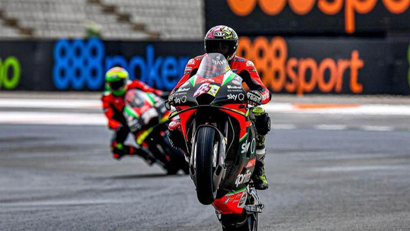 Aprilia Umumkan 2 Pembalap Ini untuk Gantikan Andrea Iannone pada MotoGP 2021