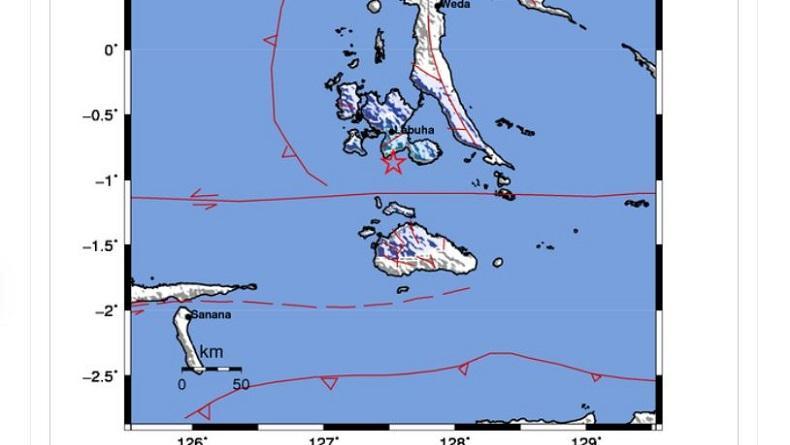 Gempa M4,3 Guncang Labuha Halmahera Selatan, Tidak Berpotensi Tsunami