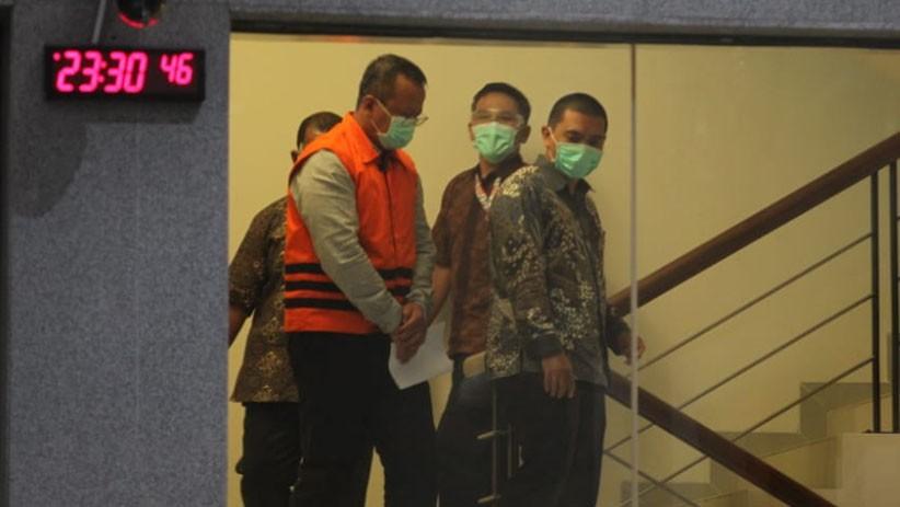 Tes Swab, Menteri KKP Edhy Prabowo Negatif Covid-19