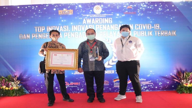 Babel Terima 2 Penghargaan Top Inovasi Pelayanan Publik Penanganan Covid-19