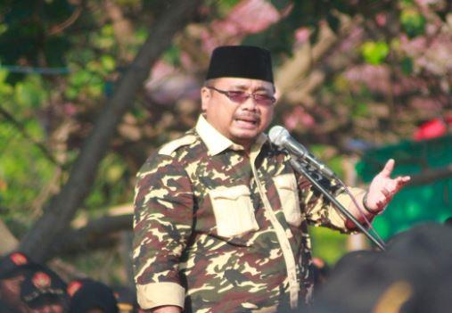 Apel Kebangsaan Banser se-Pulau Jawa, Gus Yaqut Ingatkan Jaga Persatuan