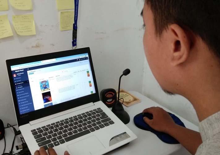 Perpustakaan Online Permudah Akses Belajar Daring Siswa SD Kramas Semarang