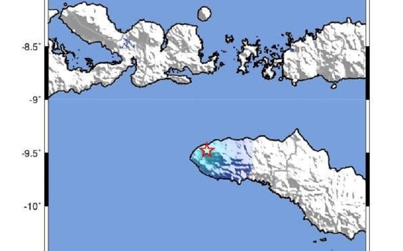 Gempa Bumi Hari Ini M4,2 Guncang Tambolaka, Terasa hingga Waikabubak Sumba Barat