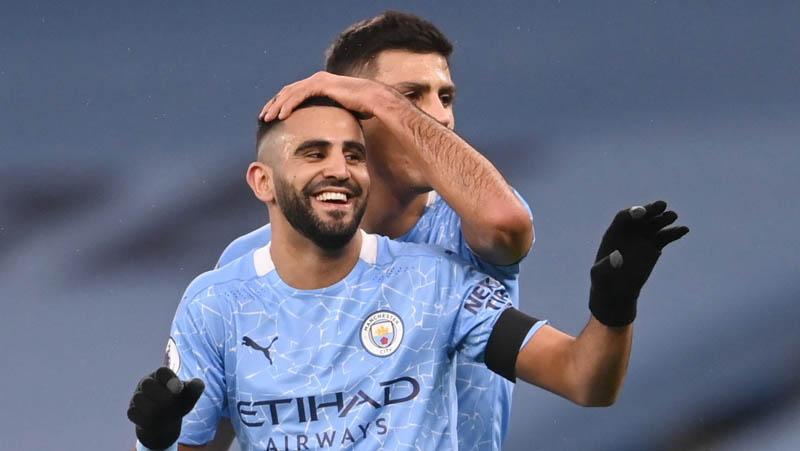 Riyad Mahrez Hattrick, Manchester City Pesta 5 Gol atas Burnley