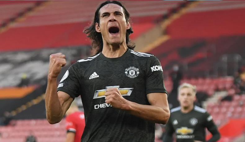 Dramatis, Cavani Bawa Manchester United Menang di Markas Southampton