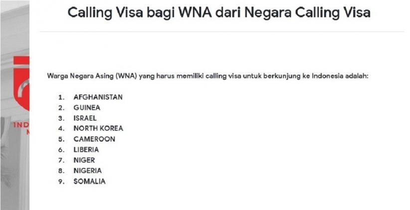 Indonesia Buka Calling Visa untuk Israel, KPIQP: Ini Melukai Bangsa Palestina