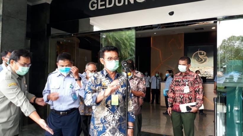 Menteri Syahrul Yasin Limpo Minta Pegawai KKP Teken Pakta Integritas