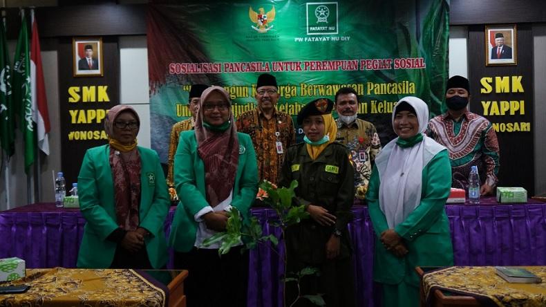 BPIP dan Fatayat NU Gelorakan Jihad Pangan di Yogyakarta