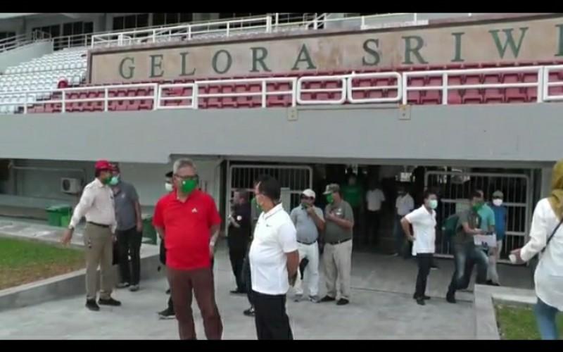 Sidak Stadion Gelora Sriwijaya, PSSI Kasih Banyak Catatan