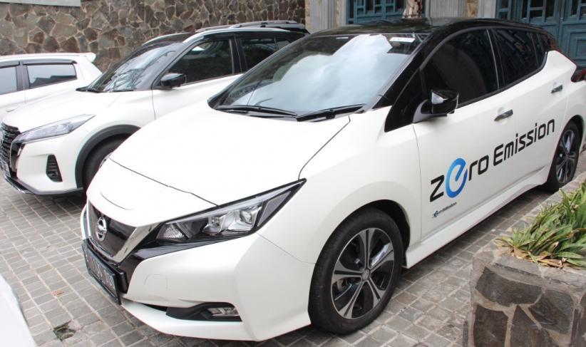 Penjualan Di Dunia Tembus 500 000 Unit Mobil Listrik Nissan Leaf Mengaspal Di Indonesia 2021