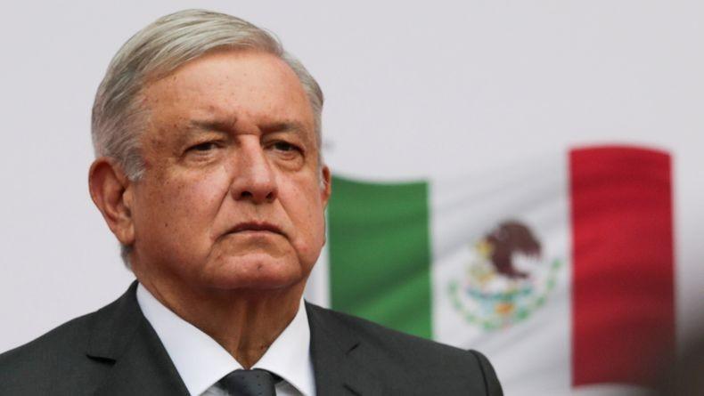 Presiden Meksiko Andres Manuel Lopez Obrador Positif Covid