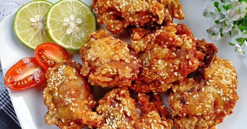 Resep Ayam Goreng Wijen Enak dan Gurih, Pakai Bumbu Marinasi Makin Nikmat