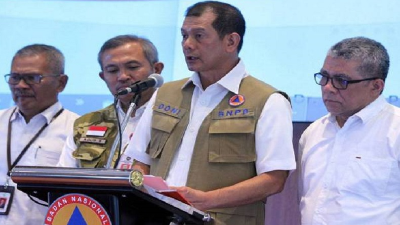 Ketua Satgas Penanganan Covid-19, Doni Monardo Positif Terpapar Corona