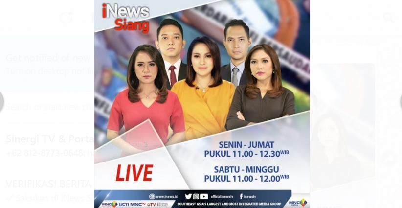 Dilema Bus Sekolah Pengantar Pasien Covid-19, Live di iNews Siang Selasa Pukul 11.00 WIB