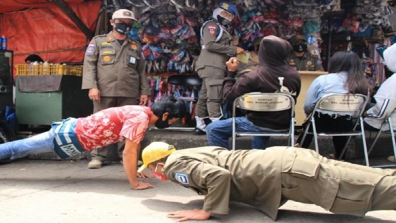 Terbukti Langgar Prokes PPKM Darurat, Warga Bandung Didenda Rp50.000-Rp250.000