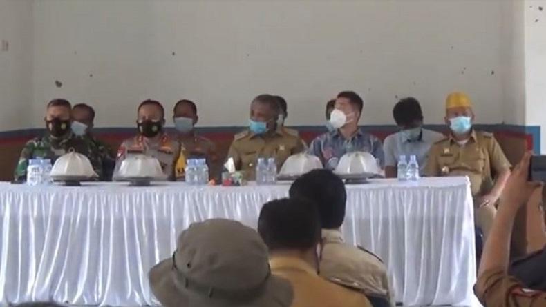 Pascademo Buruh Rusuh di Konawe, Bupati Bertemu dengan Pimpinan PT VDNI