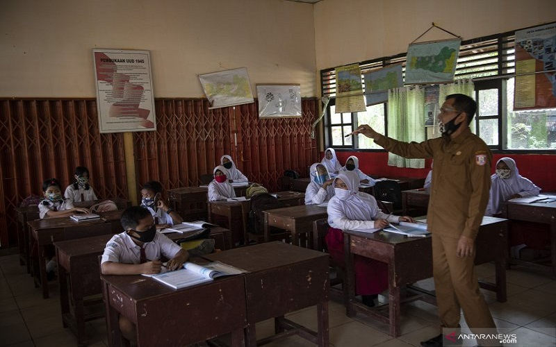 PAUD hingga SD di Ternate Mulai Belajar Tatap Muka, Terapkan Protokol Kesehatan