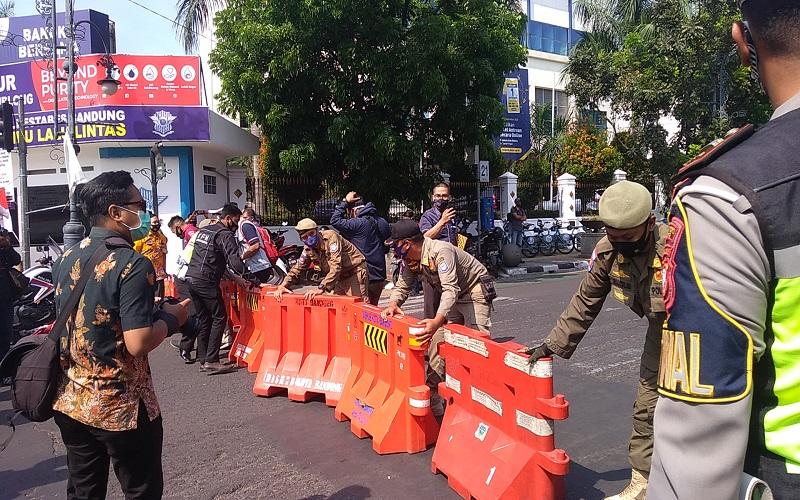 Ini Ruas Jalan di Kota Bandung yang Ditutup Akibat Covid-19 Melonjak