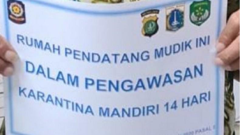 Tak Miliki SIKM, 4 Pedagang dari Tegal yang Baru Tiba di Jakarta Dikarantina