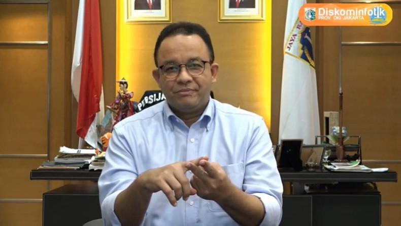Anies: Denda Pelanggar PSBB Capai Rp1,44 Miliar