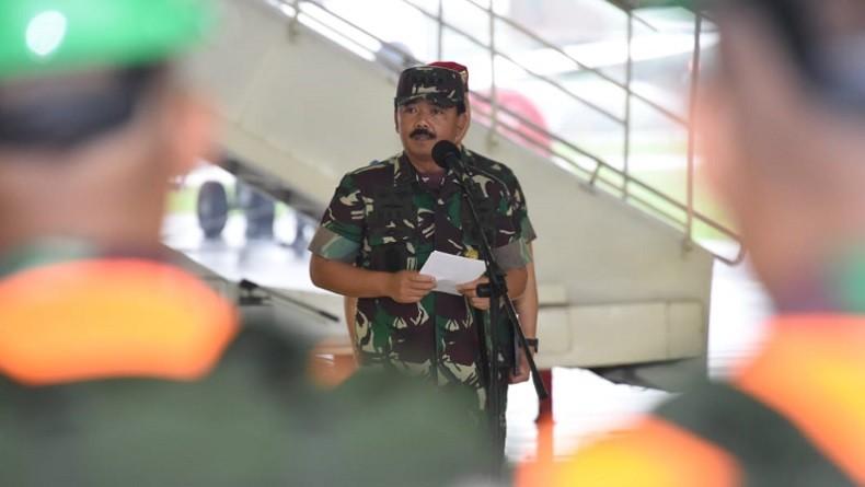 Panglima TNI Mutasi 28 Pati, Brigjen Eddy Rate Muis Jabat Danpom