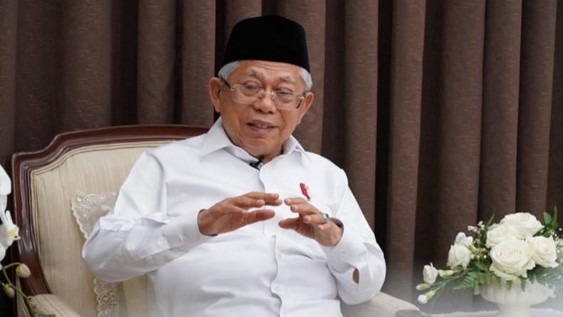 Usai Salat Idul Adha di Rumah Dinas, Wapres Ma'ruf Amin Lanjut ke Ponpes An Nawawi