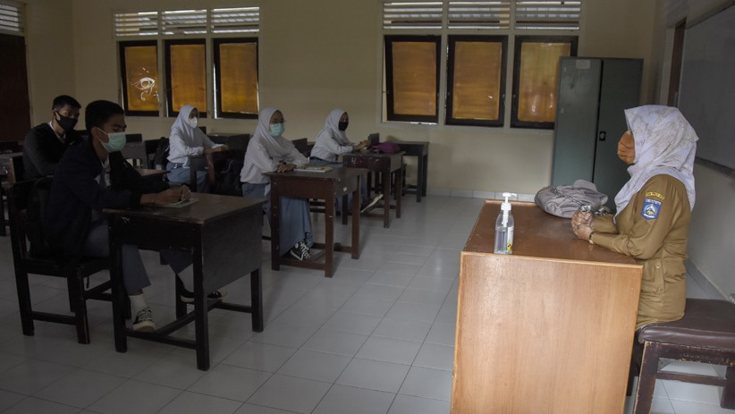 Masih Pandemi, Belajar Tatap Muka di Kabupaten Landak Belum Diterapkan