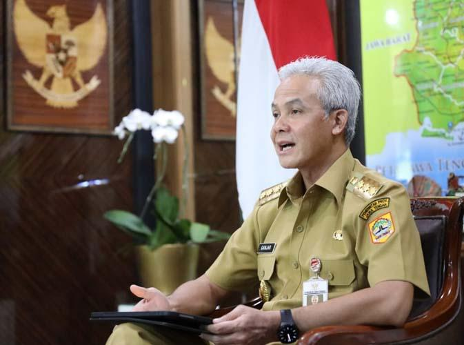 Pemerintah Terapkan Pembatasan Sosial Jawa-Bali, Ganjar: Jateng Sudah Berlatih Lama