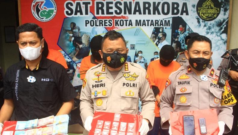 Edarkan Ekstasi, Oknum ASN Dinkes Lombok Barat Ditangkap