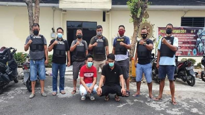 Tim Resmob Polres Bitung Tangkap Sindikat Pencurian Mobil, Sebagian Pelaku Masih Buron