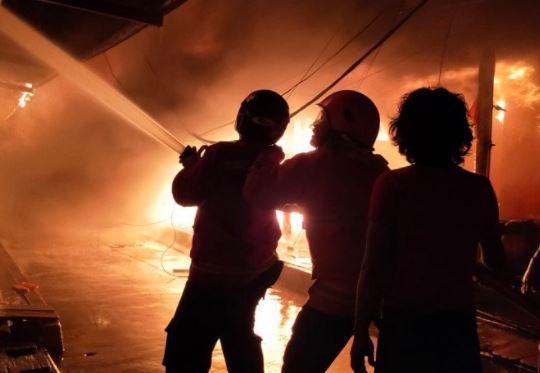 40 Rumah di Nunukan Terbakar, 6 Damkar Dikerahkan
