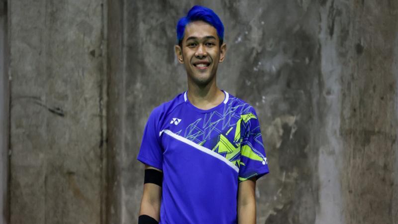 Terkuak, Ini Alasan Fajar Alfian Warnai Rambut Jadi Biru di Thailand Open