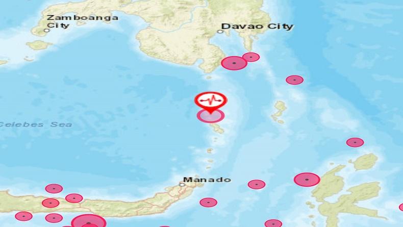 Tahuna Diguncang Gempa Tektonik M 4,8, Ini Kata BMKG Manado