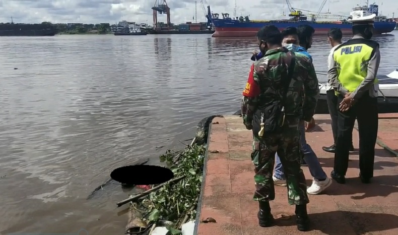 Gempar, Warga Pontianak Temukan Mayat Mengambang Dekat Sungai Kapuas