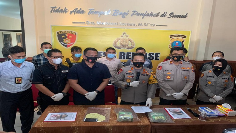Lukai Petugas, Kurir Sabu asal Aceh Ditembak Mati di Deliserdang