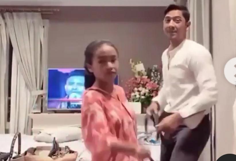 Arya Saloka Joget Bareng Ayya Renita Pakai Celana Rp300 Ribuan, Netizen Terhibur: Mas Al Aktif Ya