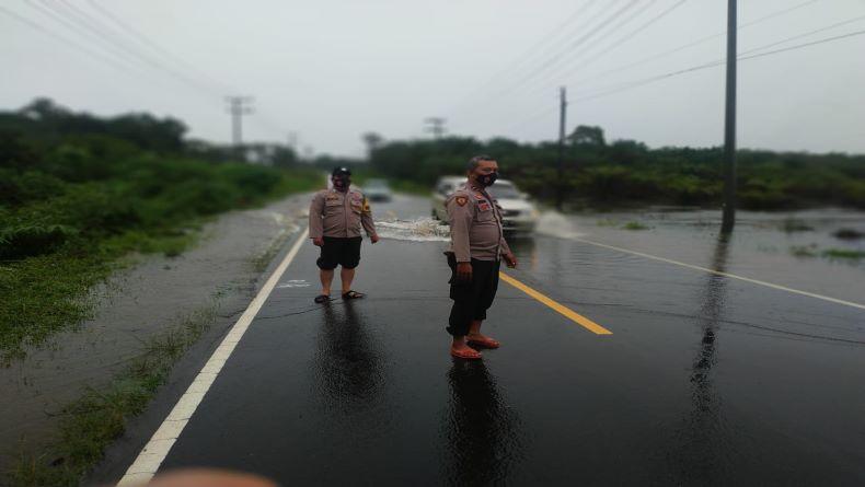 Dua Hari Diguyur Hujan, Warga Muntok Waspada Banjir