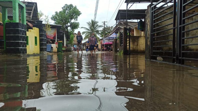 BMKG Tetapkan Babel Status Siaga, Berikut Rincian Wilayah yang Dilanda Banjir