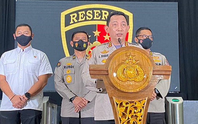 Usulan Jokowi, Komjen Pol Listyo Sigit Prabowo Calon Tunggal Kapolri