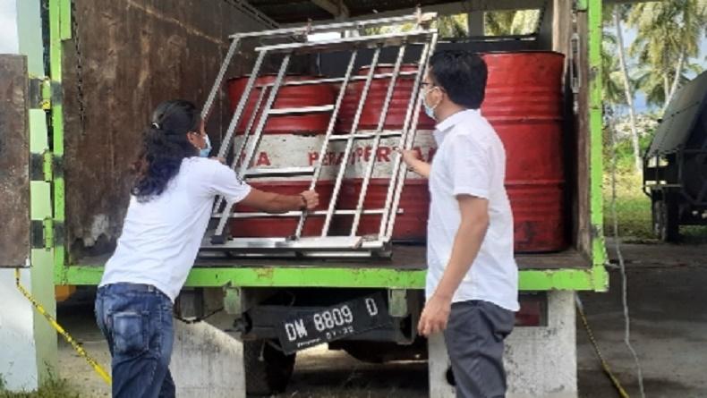 Penimbun Ribuan Liter BBM Jenis Solar Ditangkap Polres Pohuwato