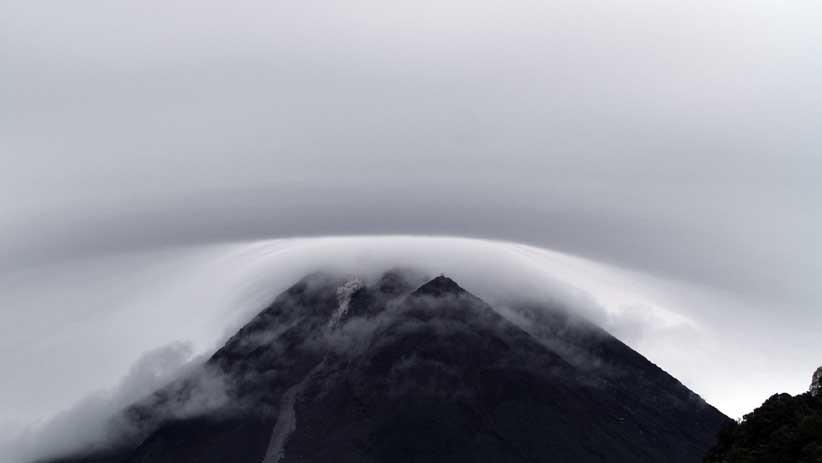 Penampakan Bentuk Kubah Lava Baru Gunung Merapi