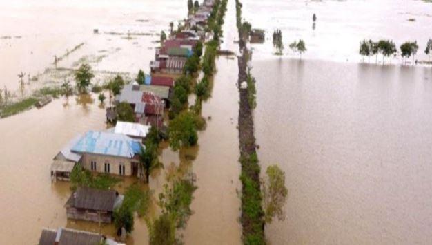 Banjir Kalsel, Tim Gabungan Evakuasi Ribuan Warga Tapin