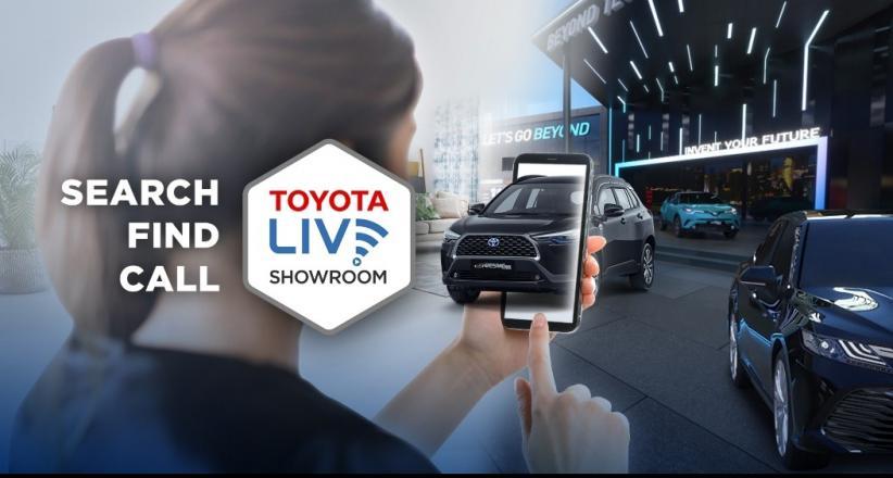Toyota Bikin Showroom Virtual, di Masa Covid-19 Konsumen Tak Perlu ke Dealer