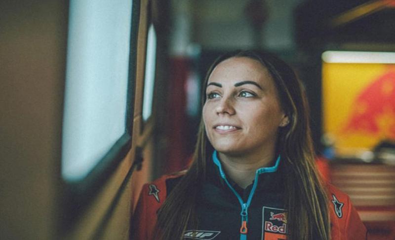 Ada Perempuan Cantik yang Hadir di Garasi Marc Marquez Musim Depan, Siapa Dia?